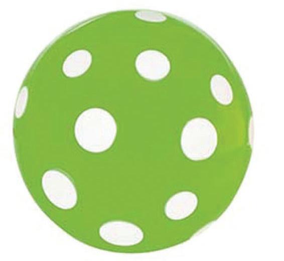 Amigo Stuiterbal Stippen: 45 mm Groen