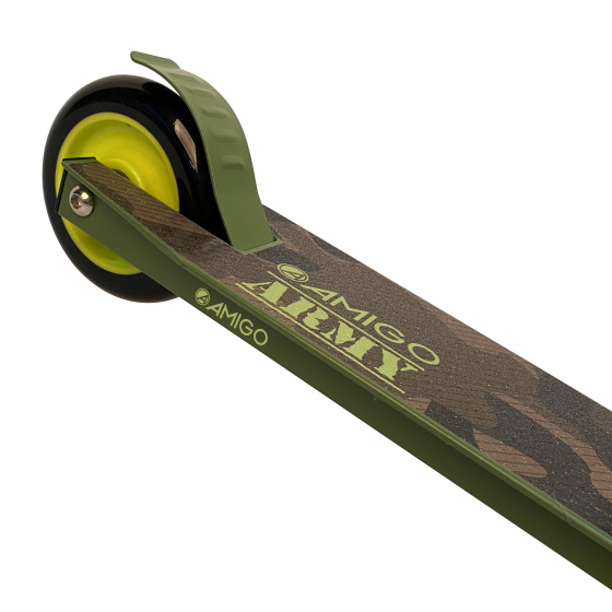 stuntstep Army Junior Foot brakes Green