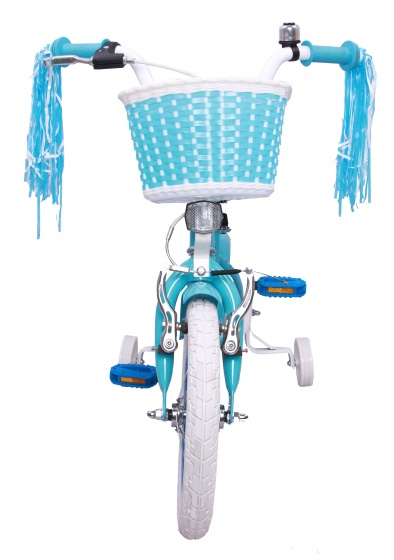 Superstar 14 Inch 21 cm Girls Coaster Brake Light blue