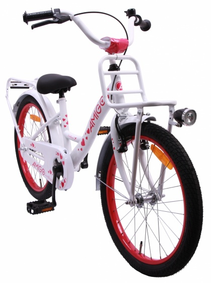 Sweetheart 18 Inch 22 cm Girls Coaster Brake White