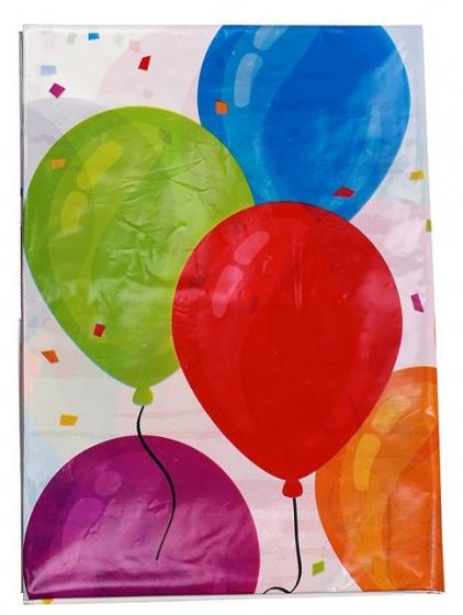 Amigo tafelkleed ballonnen 130 x 180 cm