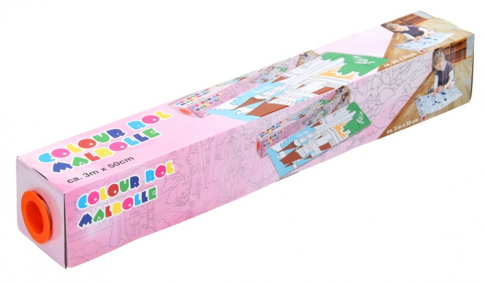 Amigo Tekenrol 300 x 50 cm prinsessen