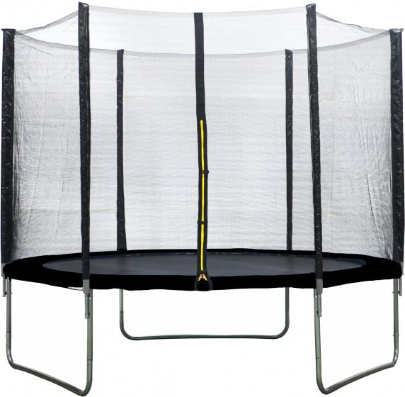 AMIGO trampoline met veiligheidsnet 305 cm zwart S1