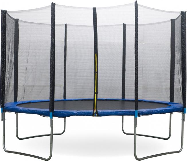 AMIGO trampoline met veiligheidsnet 427 cm blauw