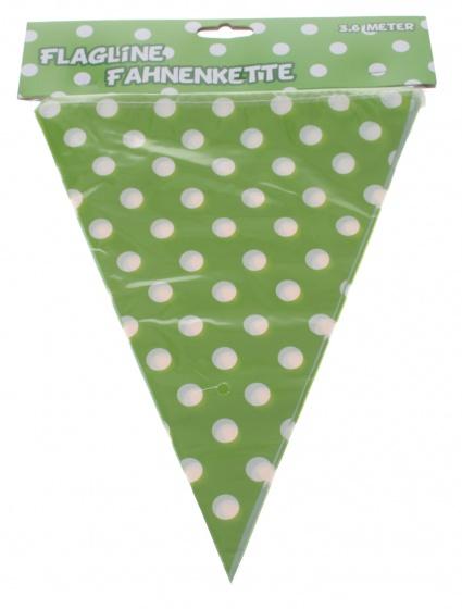 Amigo vlaggenlijn 360 cm groen