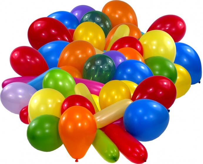 Amscan ballonnen in verschillende vormen 15 stuks