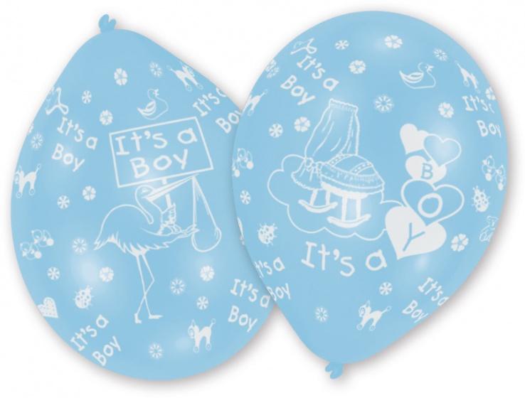 10 ballonnen 'It's a boy'