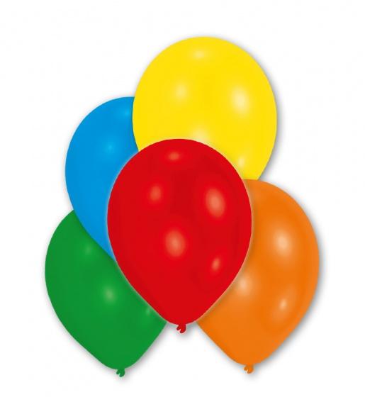 Amscan ballonnen metallic 25 stuks 27 cm