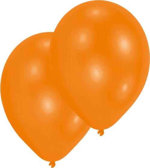 Amscan ballonnen oranje 10 stuks 28 cm