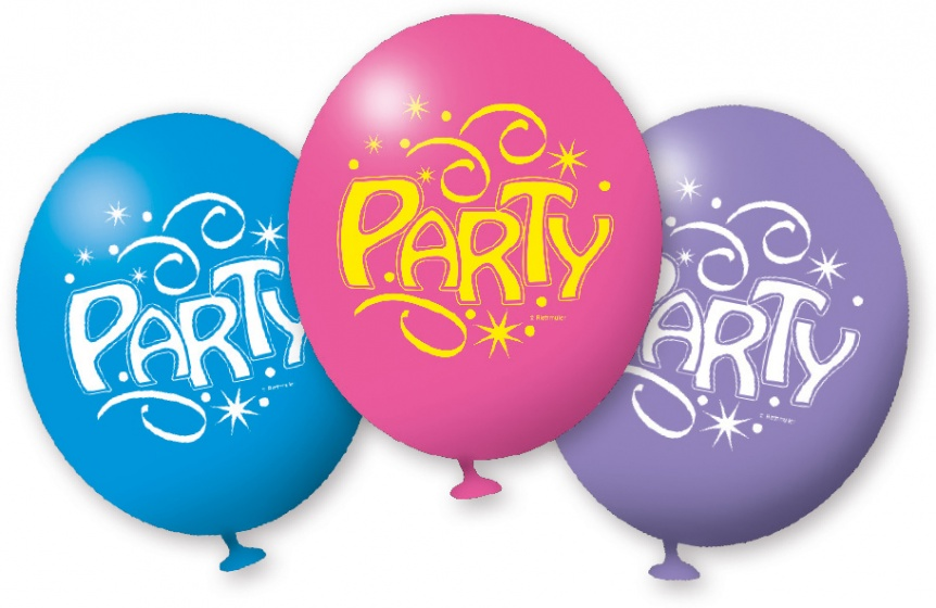 Amscan ballonnen party 23 cm 6 stuks