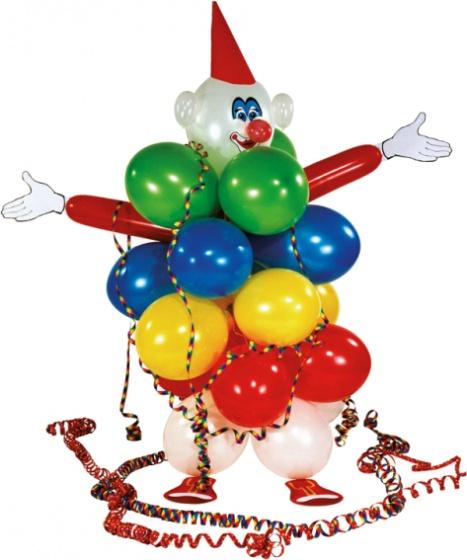 Riethmueller ballonnen-decoratie-set clown