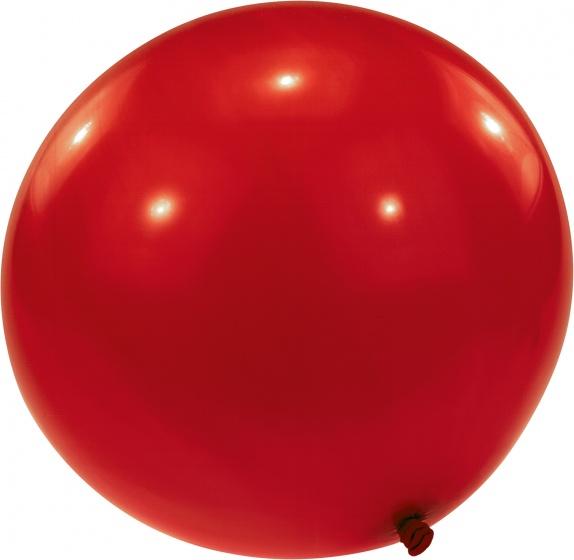 Amscan mega ballon rood 80 cm