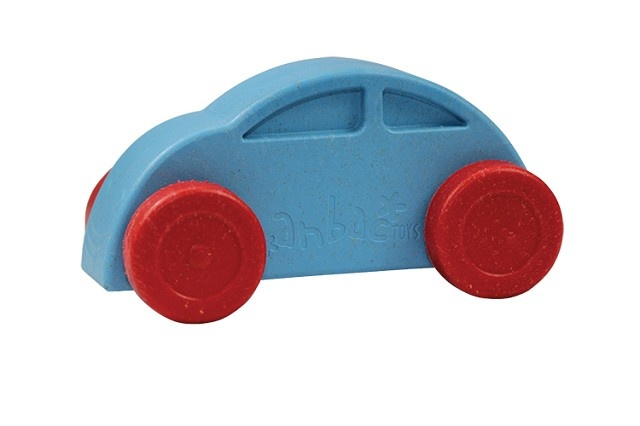 Anbac Toys Auto Blauw Rood