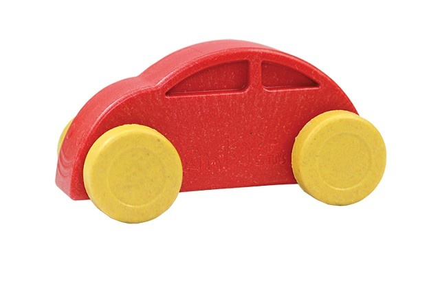 Anbac Toys Auto Rood Geel