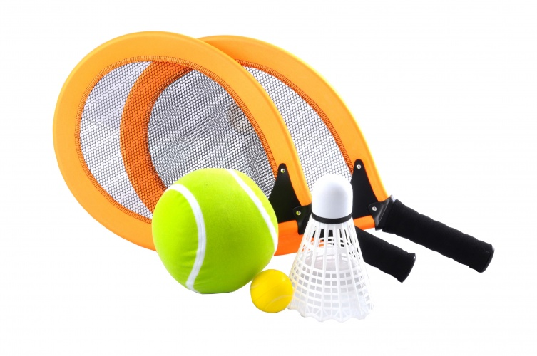 Angel Sports Racketset 2 Spelers Oranje