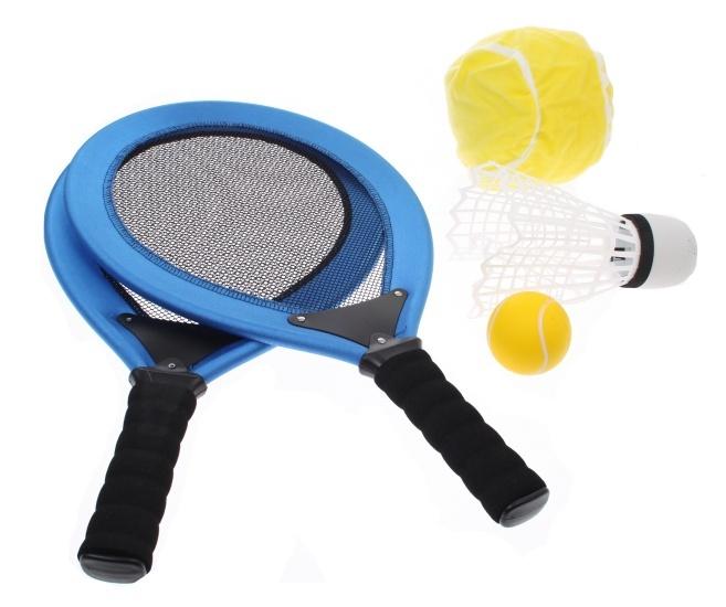 Angel Sports Racketset 2 Spelers Donker Blauw