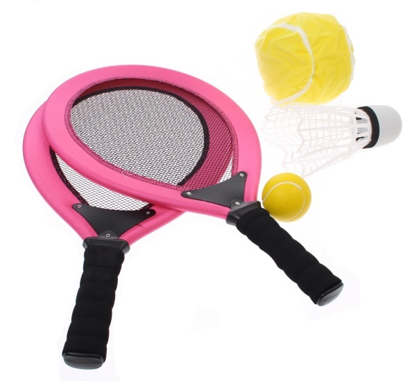 Angel Sports Racketset 2 Spelers Roze