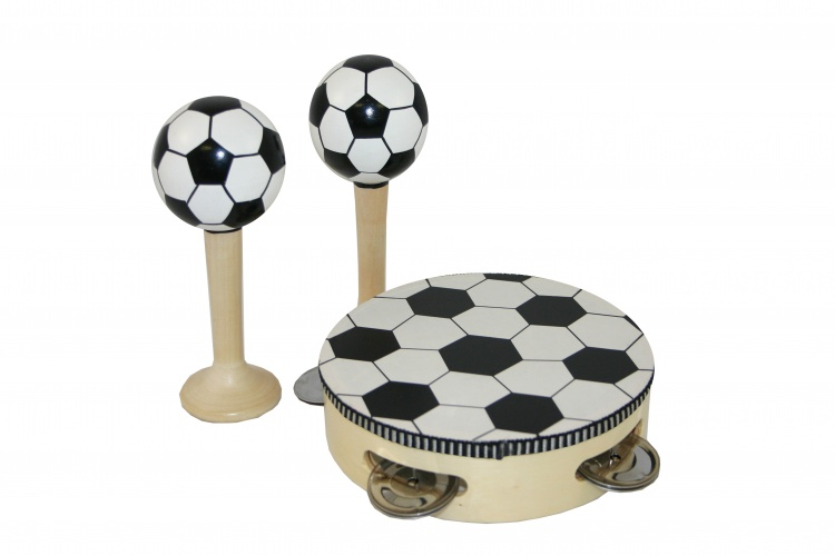 Angel Toys 2 Sambaballen en Tamboerijn Voetbal