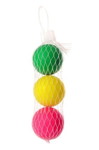 Angel Toys beachball balletjes 4 cm 3 stuks