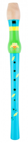 Angel Toys Blokfluit uil blauw