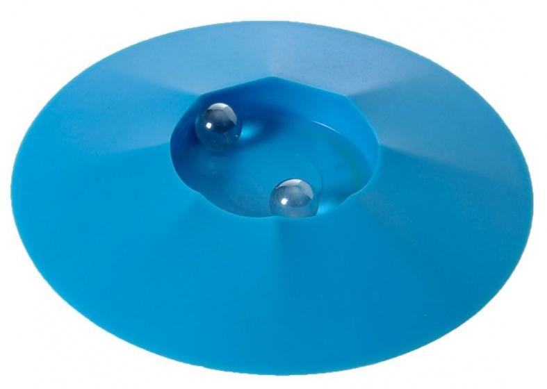Angel Toys Knikkerpot met knikkers 17 cm blauw