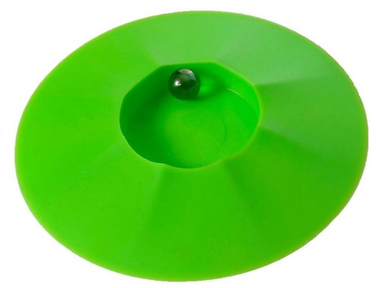 Angel Toys Knikkerpot met knikkers 17 cm groen
