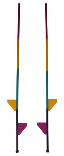 Angel Toys regenboog stelten 175 cm 2 stuks
