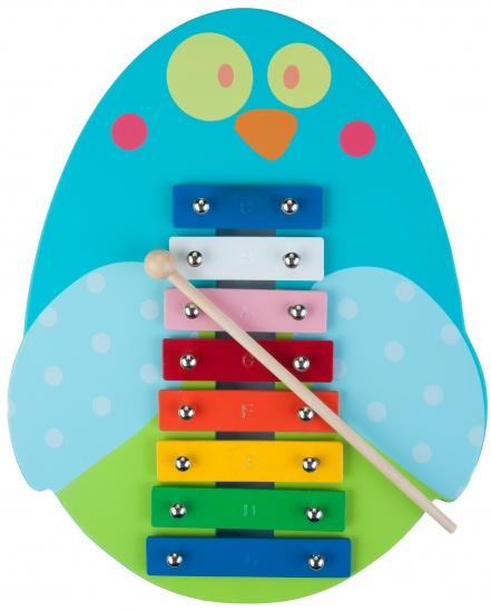 Angel Toys Xylofoon vogel blauw