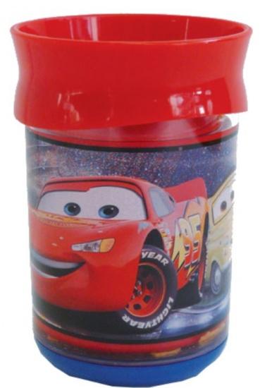Disney Beker Cars dubbelwandig kunststof 250 ml rood