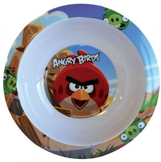 Angry Birds Kom kunststof 16 cm wit