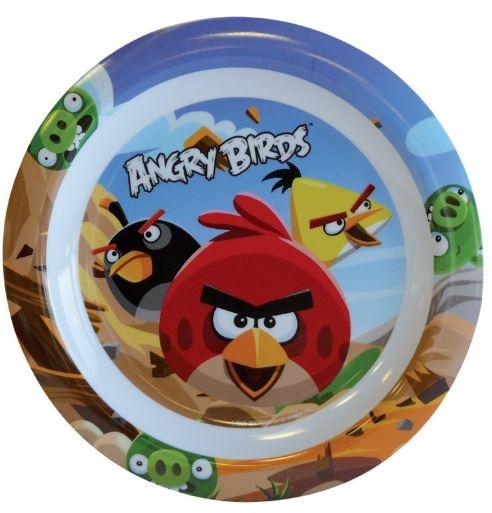 Angry Birds Plat bord kunststof 22 cm blauw