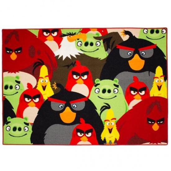 Angry Birds speelkleed 95 x 133 cm