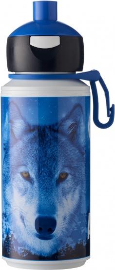 Rosti Mepal Animal Planet Pop up beker wolf 275 ml