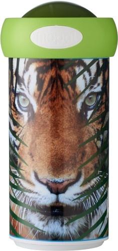 Rosti Mepal Animal Planet Schoolbeker tijger groen