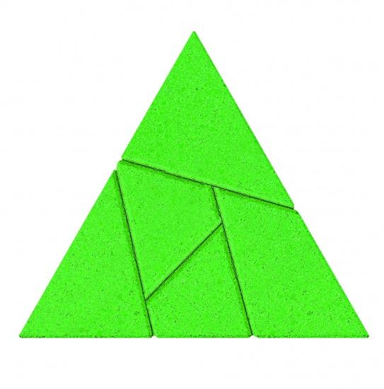 Anker Stenen Puzzel: Driehoek