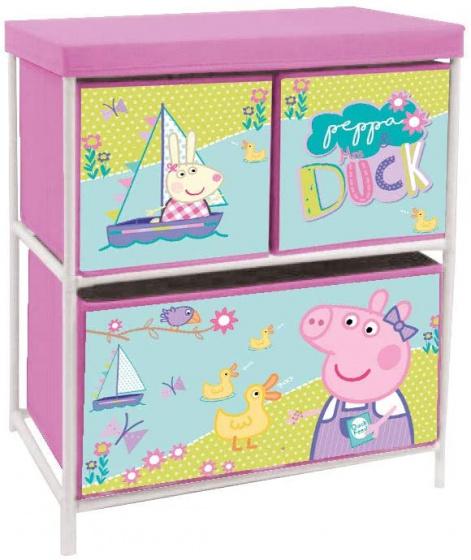 Arditex opbergkast Peppa Pig 60x53 cm alu-polyester roze