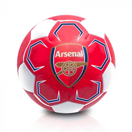 Arsenal bal Arsenal Soft 10 cm PVC rood/wit