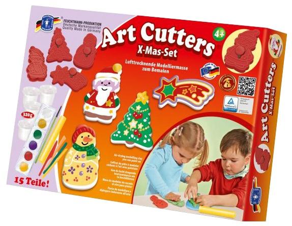 Feuchtmann Art Cutters Knutselset Kerst 15 Delig