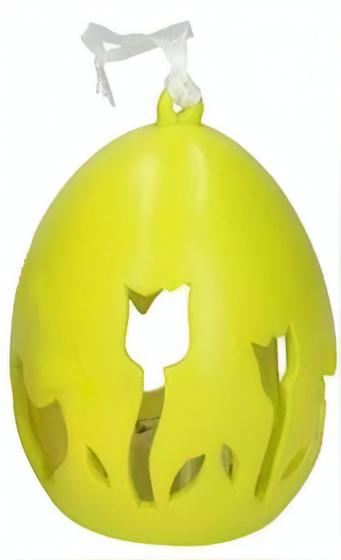 Arti Casa paasei LED lamp 6,8x9 cm keramiek groen