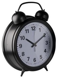 Arti Casa wekker zwart 56 cm