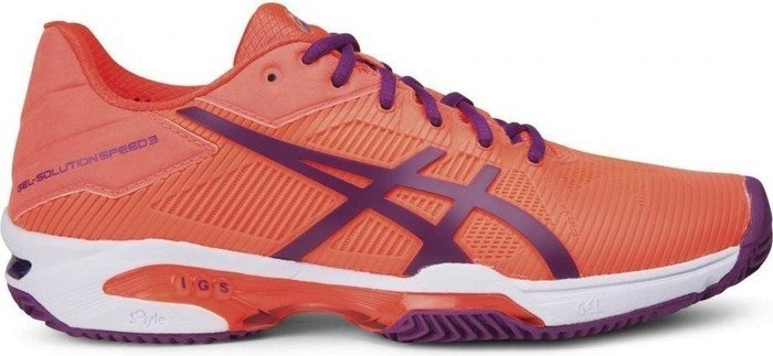 chaussures de tennis Speed 3 Clay dames orange taille 35,5
