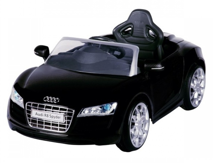 Accu voertuig Audi R8 Spyder zwart
