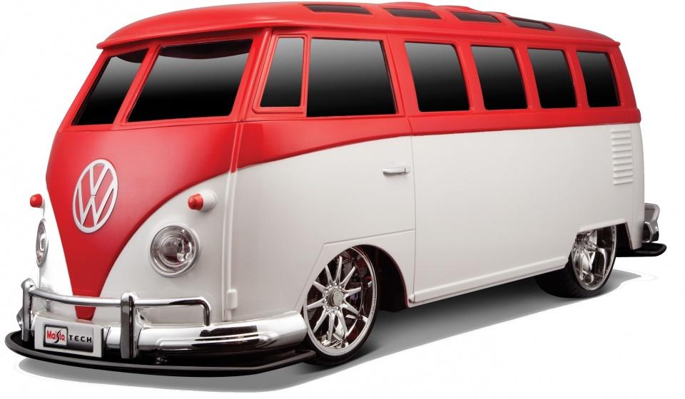 Auldey volkswagen bus t1 rc rood wit 110 159663