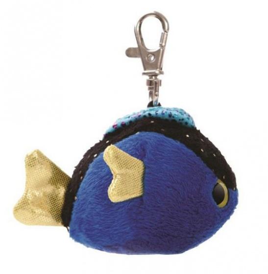 Aurora doktersvis sleutelhanger 7,5 cm blauw