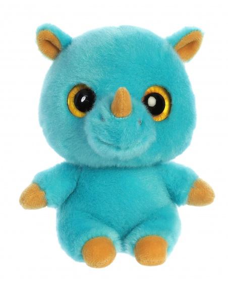 Aurora knufel YooHoo neushoorn Rino 12,5 cm