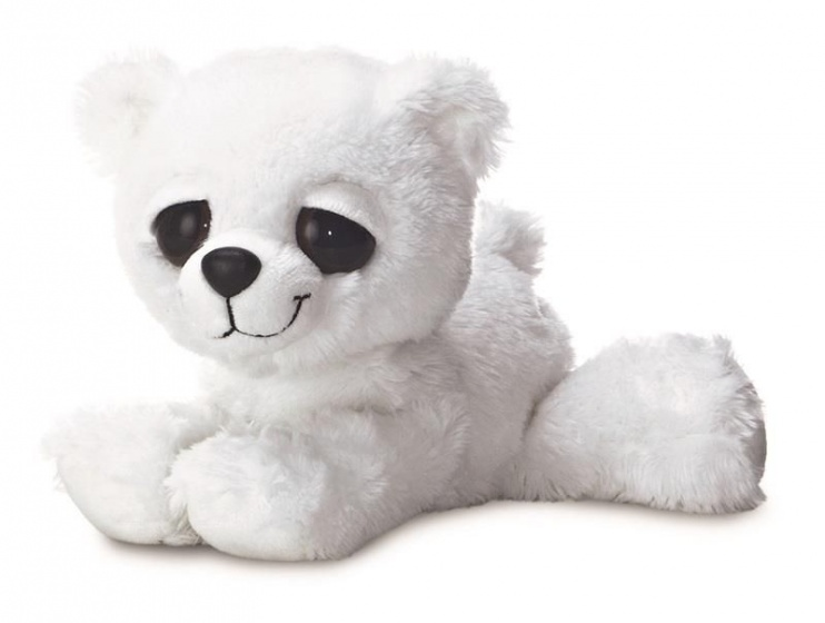 Aurora knuffel ijsbeer Dreamy Eyes 30,5 cm wit