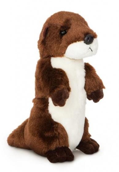 Aurora knuffel otter 20,5 cm bruin