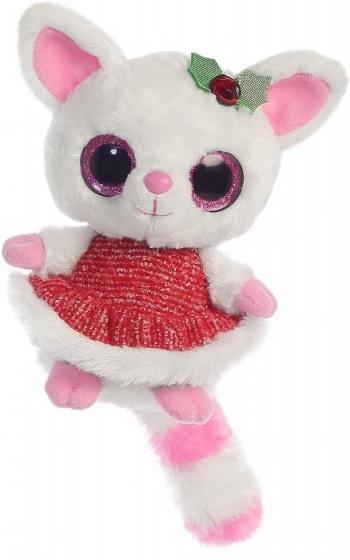 Aurora knuffel Pammee rode jurk 20,5 cm