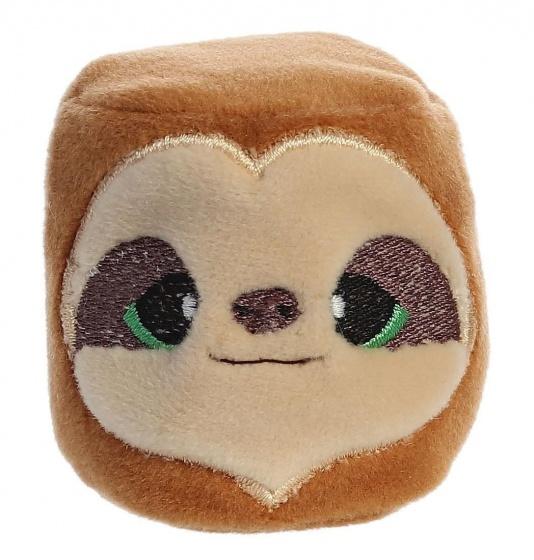 Aurora mini knuffel YooHoo beanbag 6 cm bruin