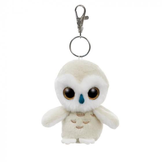 Aurora YooHoo Snowee sneeuwuil sleutelhanger 9 cm
